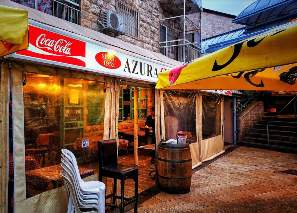 Azura1 1024x737 - Ресторан Азура в Иерусалиме