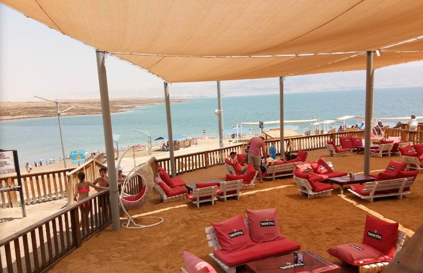 Kalia Beach2 - Пляжи Мертвого моря. Пляж Калия. Отзыв туриста