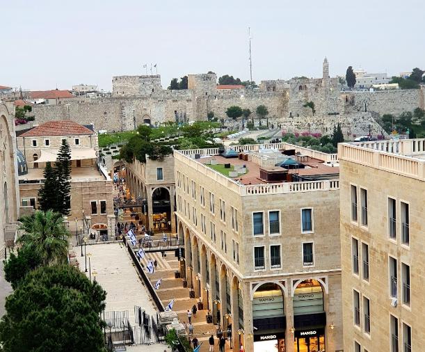 Rooftop4 - Ресторан Руфтоп Мамилла в Иерусалиме
