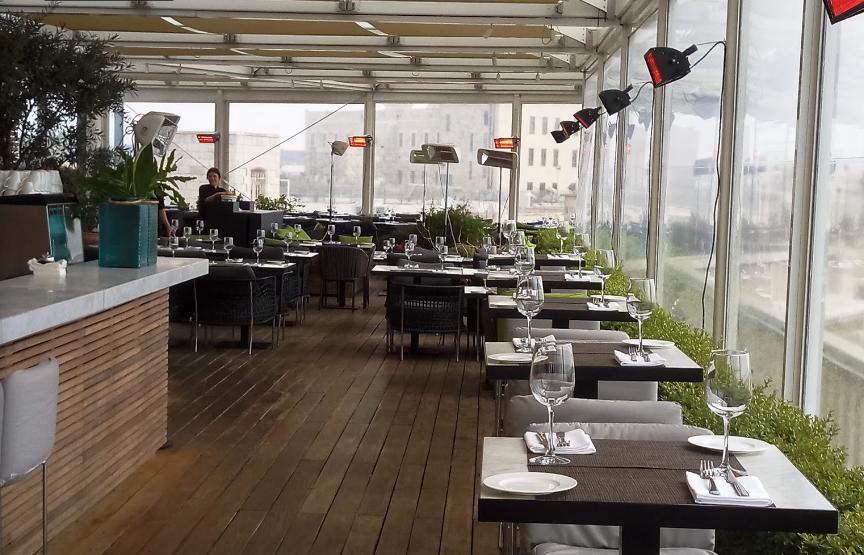 Rooftop5 - Ресторан Руфтоп Мамилла в Иерусалиме