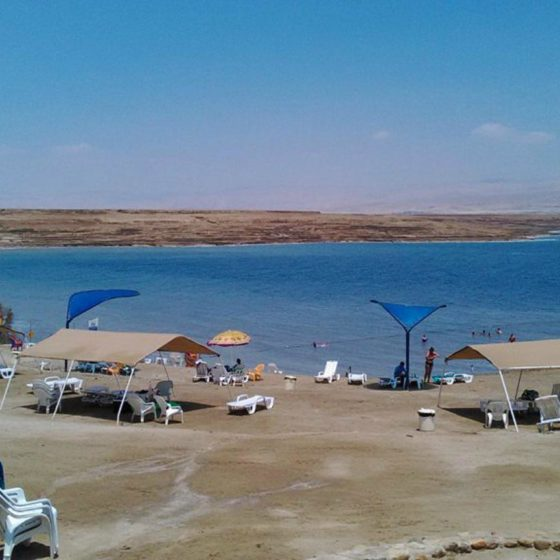 plyazhi mertvogo morya plyazh kaliya otzyv turista 560x560 - Пляжи Мертвого моря. Пляж Калия. Отзыв туриста