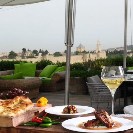 rooftop71 560x560 - Ресторан Руфтоп Мамилла в Иерусалиме